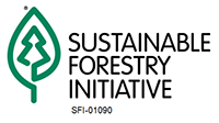 Sustainable Forestry Initiative®(SFI®) Certified Sourcing